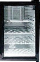 Display koelkast - 68 Liter - Glasdeur - Compressor - tafelmodel - barkoeling