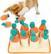 Snuffelmat voor Hond en Kat - Intelligentie speelgoed -  Snuffel Mat Puppy - IQ Hondenspeeltjes - Educatieve Training Huisdier - Snuffeltrainer Hondenpuzzel - Educatief Speelgoed - Vetalo
