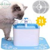 Drinkfontein kat | Kattenfontein | Drinkbak hond | Drinkbak kat | Waterfontein kat | Waterfontein hond | Able & Borret - Blauw