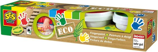 Ses Eco Vingerverf - 4 Kleuren