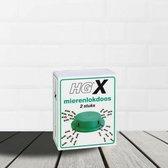 HGX mierenlokdoos - 2 stuks - effectieve bestrijdingsmiddel