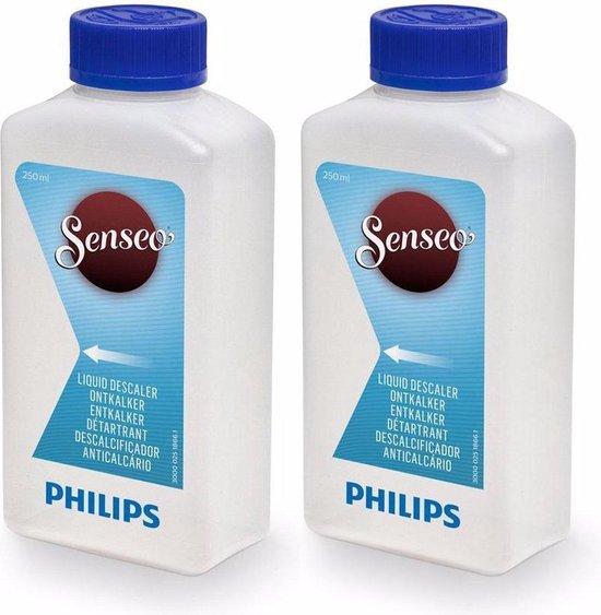 Philips Senseo CA6520/00 - Koffiemachineontkalker - CombiDeal - 2 flesjes van 250 ml