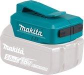 ADP05 USB-adapter 14,4/18V voor het opladen van mobiele apparaten