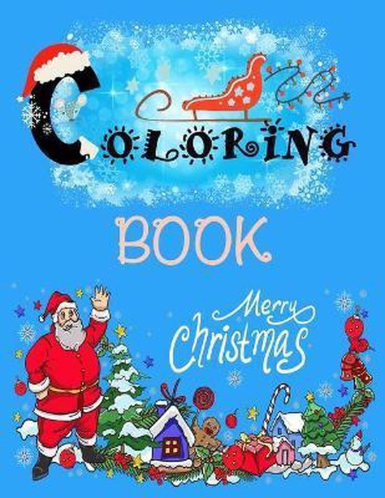 Coloring Book: Merry Christmas