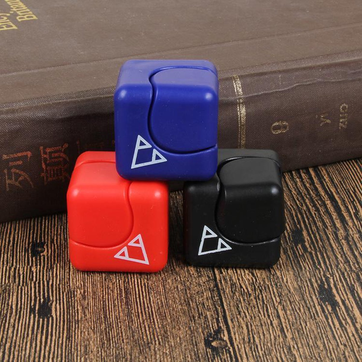3 stuks Super top magic vierkante spinner cube , antie stress