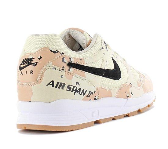 Nike Air Span II PRM Premium - Desert Camo - Heren Sneakers Sportschoenen Schoenen AO1546-200 - Maat EU 41 US 8