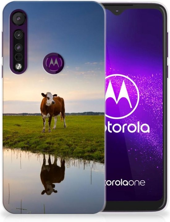 Motorola One Macro TPU Hoesje Koeien