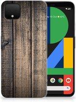 Google Pixel 4 XL Bumper Hoesje Steigerhout
