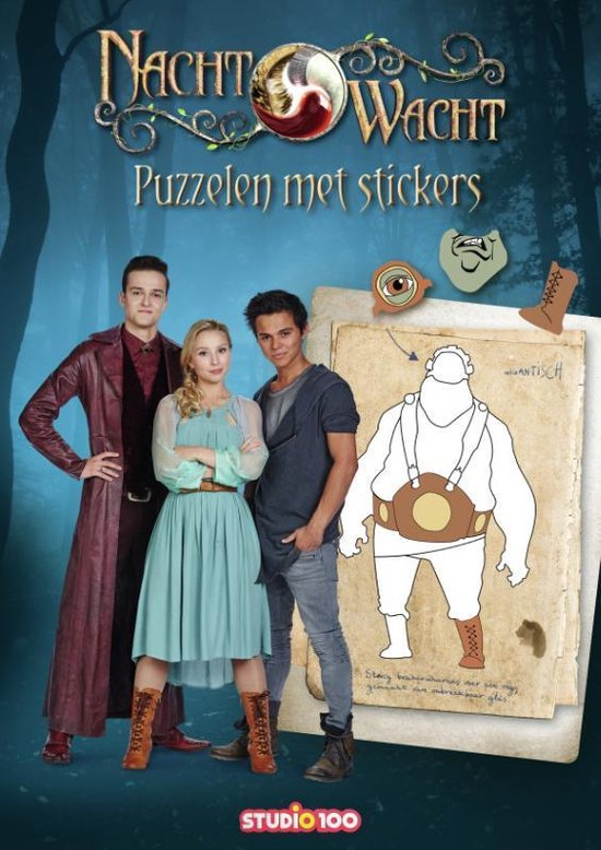 Afbeelding van het spel Nachtwacht : Doeboek - Puzzelen met stickers