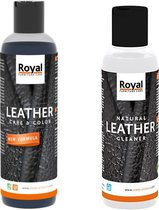 Natural leather Cleaner en Care & Color Zwart , Black