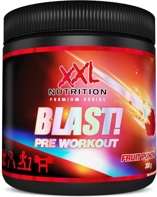 Blast! Pre Workout - 300 gram (30 doseringen) - Fruit Punch