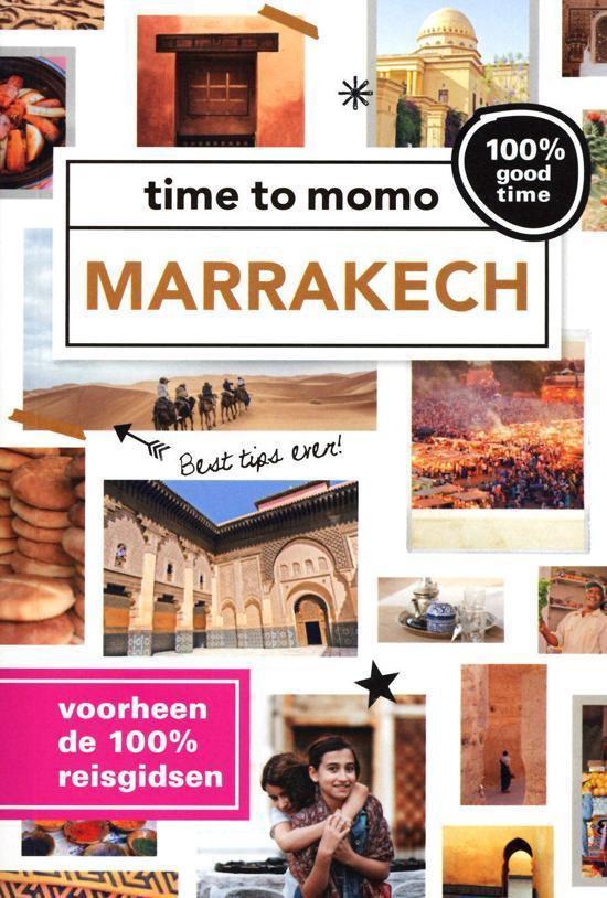 Cover van het boek '100% Marrakech' van Rixt Albertsma