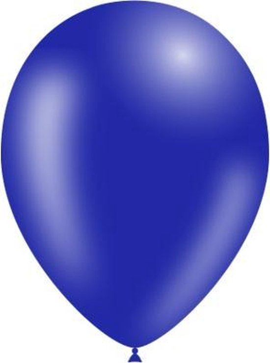 Donkerblauwe Ballonnen 25cm 10st