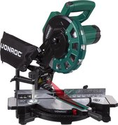 VONROC Afkortzaag – 1700W – Ø216MM – 40 tands zaagblad – Kap-en verstekzaag – met laser