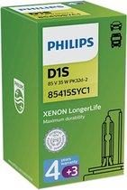 D1S Philips Longerlife Xenon met 4+3 jr Garantie 85415SYS1 / -C1