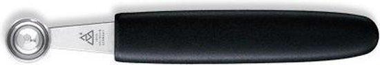Triangle Professional Pomme Parisienneboor - Rvs - 15 mm - zwart