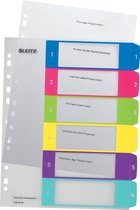 Leitz WOW printbare index - tabs 1-6