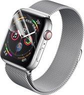 2x Stuks 42 mm Apple Watch 1/2/3 Hydrogel Bescherm Folie Rand tot Rand Bescherming - Screenprotector Apple Watch 42mm