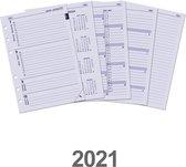 Kalpa 6207-21 A5 organizer week agenda EN-NL 2021