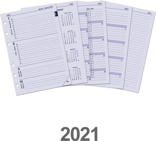 Afbeelding van Kalpa 6207-21 A5 organizer week agenda EN-NL 2021