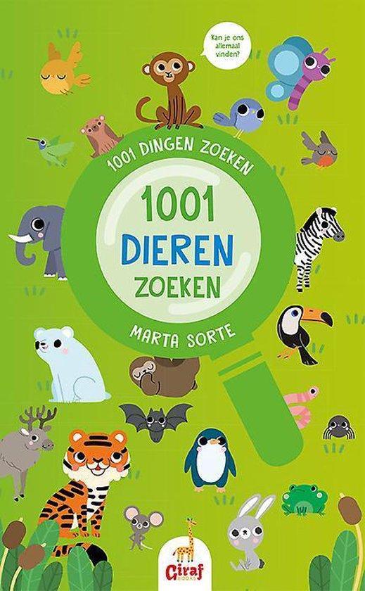 1001 dingen zoeken - 1001 dieren zoeken - Marta Sorte |