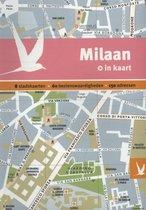 Milaan in kaart. 8 stadskaarten, 60 bezienswaardigheden, 150 adressen