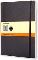 Moleskine Classic Notitieboek Soft Cover - XL - Zwart - Lijnen
