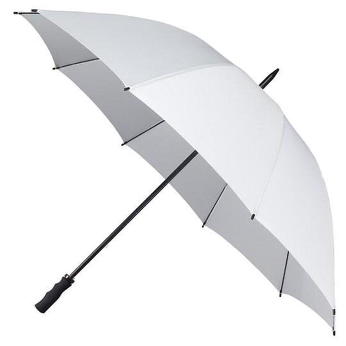 Falcone Extra Strong Paraplu - Ø 130 cm - Wit