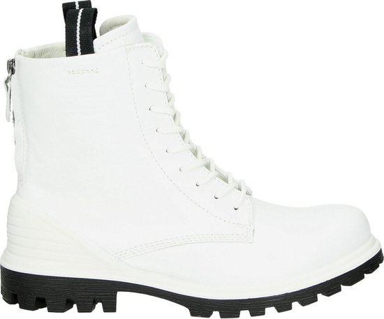 Ecco Tred Tray dames veterboot - Wit - Maat 37