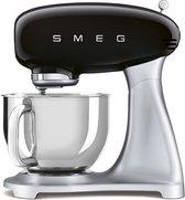 Smeg SMF02BLEU mixer - Staande mixer - Zwart & Zilver 800 W