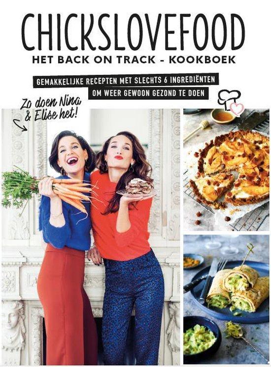 Boek cover Het Back on Track - Kookboek van Chickslovefood