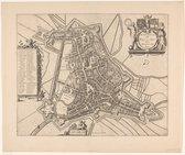 Poster Historische Oude Kaart Den Bosch - Stadsplattegrond - 1649 - Large 50x70 - 's-Hertogenbosch