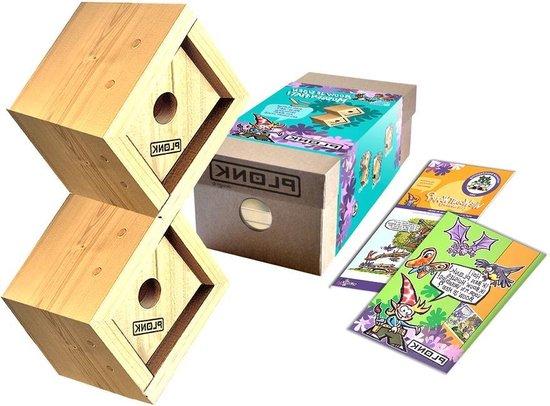 Welp bol.com   Vogelhuisje Hout - mussenflat Knutselpakket - Nestelkast QI-92