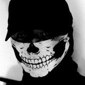 Stoere Skull Gezichtsmasker - Skull Mask  – Bivakmuts – Ski Masker – Face Masker – Motor kleding – Motor Accessoires – Uitstraling – Kou – Winter – Zomer – Wind dicht