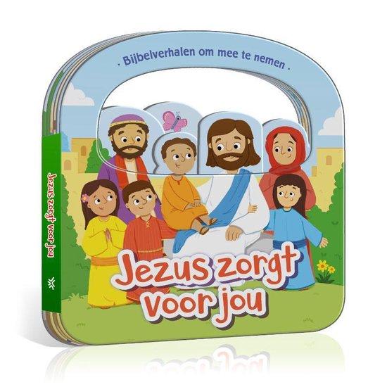 Boek cover Bijbelverhalen om mee te nemen  -   Jezus zorgt voor jou van Cecilie Fodor (Onbekend)