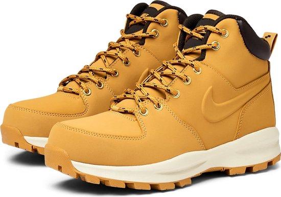 Nike Manoa Leather Heren Sneakers - Haystack/Haystack-Velvet Brown - Maat 44
