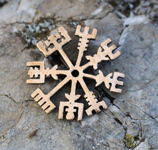 Vegvisir - viking - runen kompas