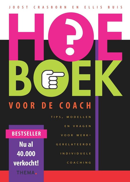 Boek cover Hoe-boek voor de coach van Joost Crasborn (Onbekend)