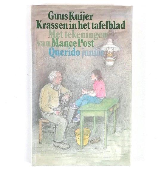 Krassen in het tafelblad - Kuyer |