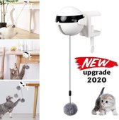Kattenhengel - kitten speelgoed  - kattenspeeltjes - Elektrische  - Muis - Automatische hengel - bal - Poes - Katten  - Prooi - kat - poesjes - Interactief Kattenspeelgoed