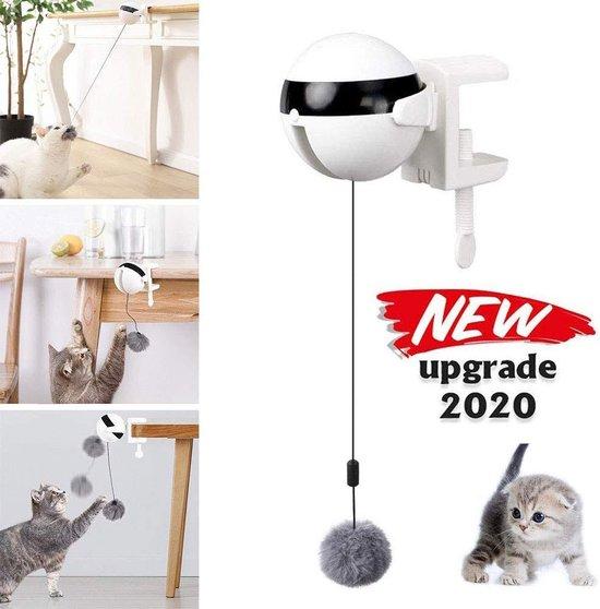 Kattenhengel - kitten speelgoed - kattenspeeltjes - Elektrische - Muis - Automatische hengel - bal - Poes - Katten -...