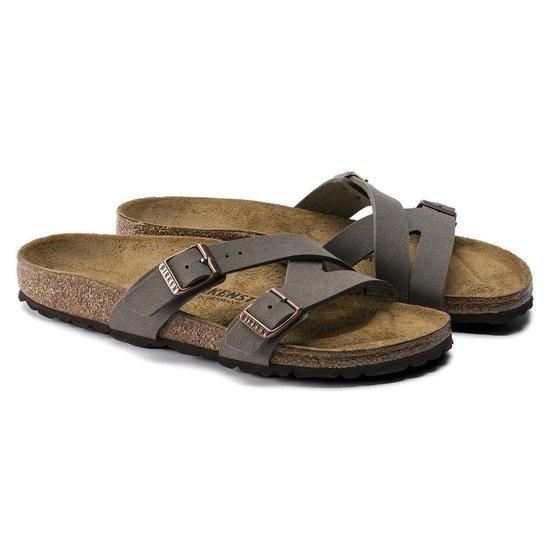 Birkenstock Yao Stone narrow Dames Slippers – maat 42 MIIPoRXc