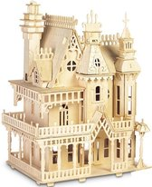Bouwpakket Poppenhuis Villa Fantasia DIY Schaal 1:24- hout