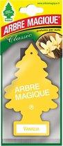 Geurboom Vanille - 4 Stuks - Arbre Magique Luchtverfrisser - Geel - Voor in de auto/vrachtwagen/bus