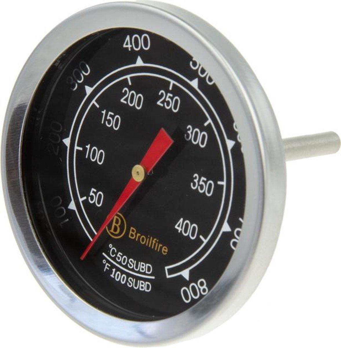 Broilfire RVS thermometer model 1