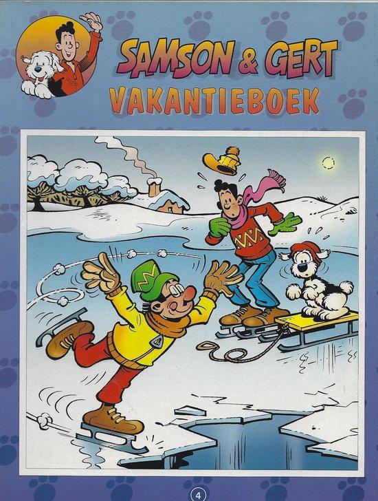 Vakantieboek 4 - Gert Verhulst  