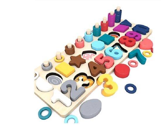 Multifunctionele Educatief Speelgoed Voor Kinderen Houten