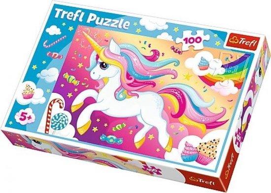 Puzzel unicorn 100 stuks