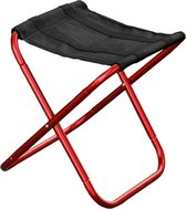 Outdoor Portable Folding Stool  Size: 25*22*26cm(Red)