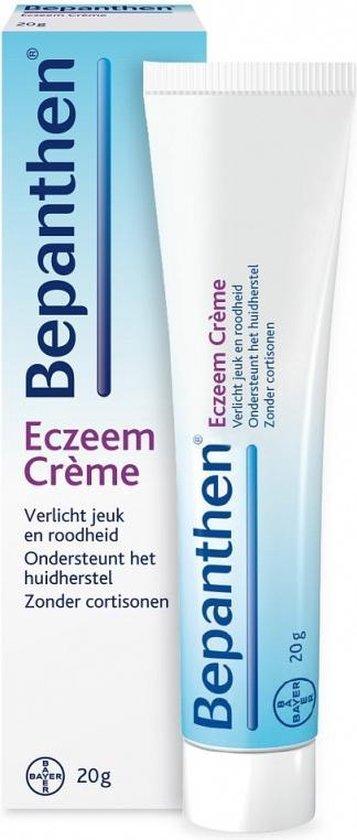 Bepanthen Eczeem Crème verlicht jeuk en roodheid bij mild tot matig eczeem